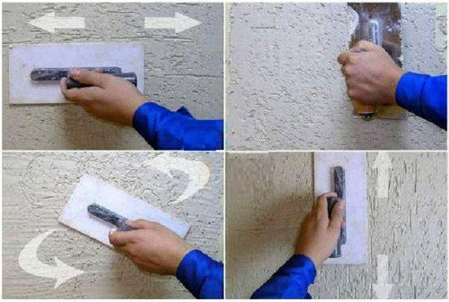 Как выполнить декоративную штукатурку своими руками
