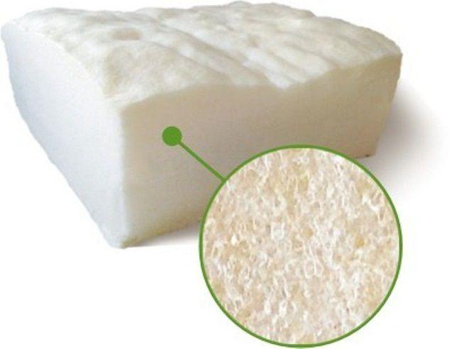 Мелкоячеистая воздухонаполненная структура застывшего пенополиуретана