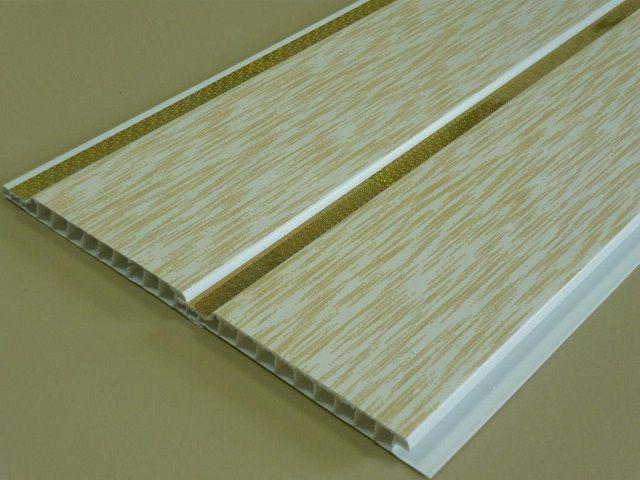 Замковое соединение «шип – паз» позволяет собирать панели в большие плоскости, или абсолютно ровные, или выполненные по принципу деревянной вагонки