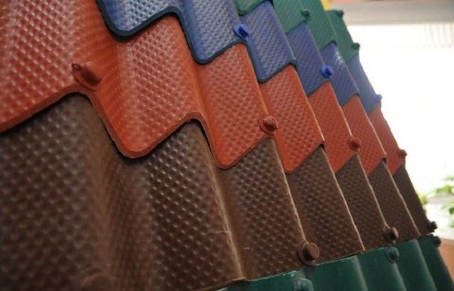 Текстурированные листы «керамопласта»