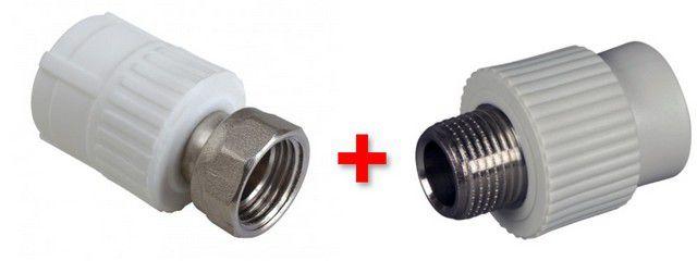 Выход из положения – разрезать трубу и вварить разборный соединительный узел.