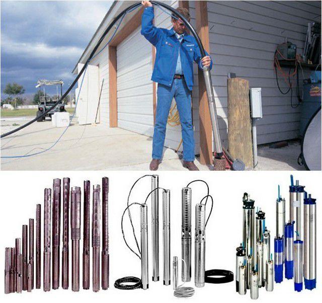 Погружные насосы для скважин технические характеристики и цены