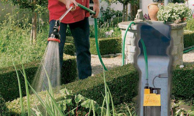 Погружной дренажный насос – отличная возможность для организации полива на участке