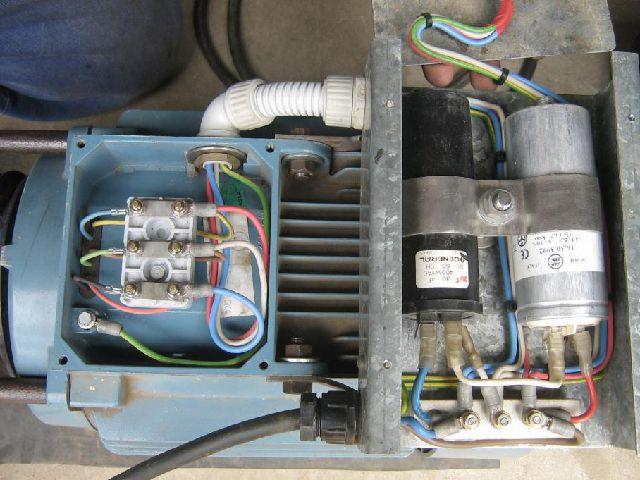 Как подключить трехфазный электродвигатель в сеть 220 В