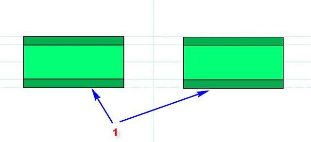 Принцип стыковой сварки ПП-труб, схема №1