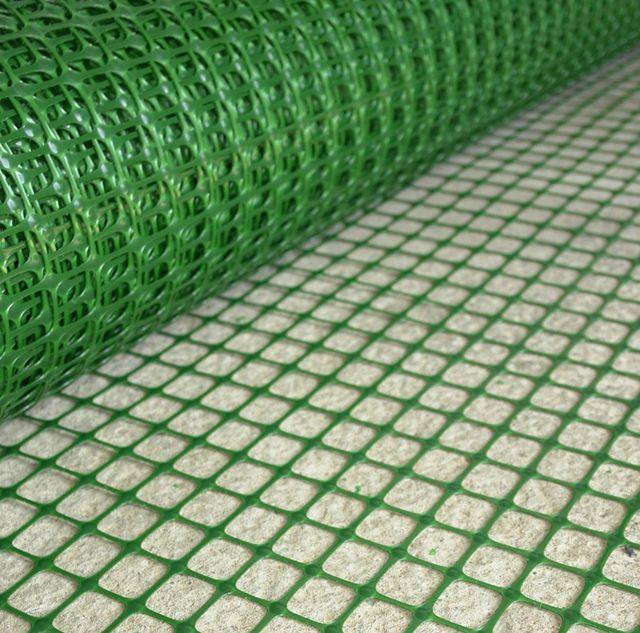 Пластиковая армирующая сетка является отличной альтернативой металлической