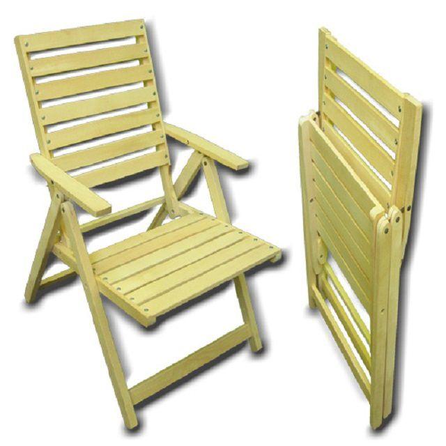 В сложенном состоянии такой стул практически не занимает места