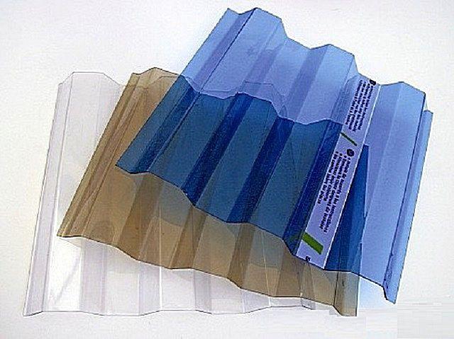 Листовой пластиковый шифер