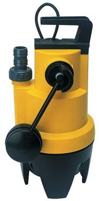 Дренажный насос с поплавковым выключателем рычажного типа
