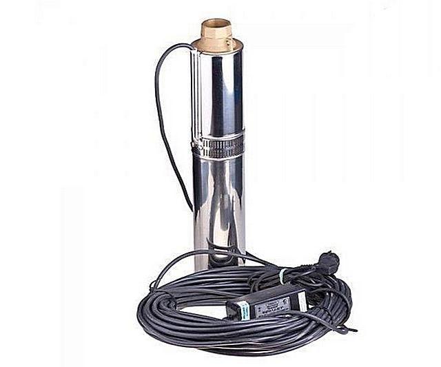 Длина штатного кабеля питания должна обеспечивать погружение насоса на нужную глубину, без использования каких бы то ни было сростков
