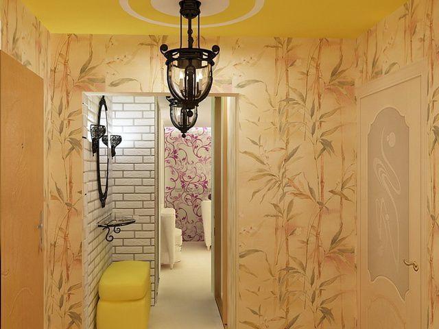 Для прихожих и коридоров выбирают обои с повышенной стойкостью к истиранию