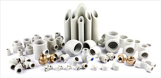 Широкое разнообразие комплектующих к полипропиленовым трубам