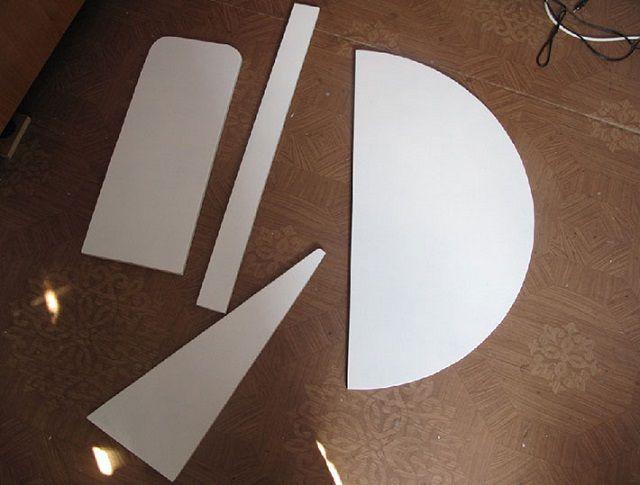 Заготовки для изготовления откидного столика