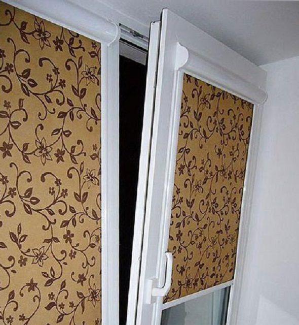Шторы «Rollite» монтируются непосредственно на окна и не мешают нормальной работе механизмов, независимо от своего открытого ил закрытого положения
