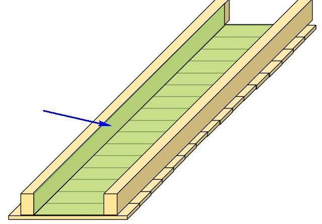 Пароизоляционная мембрана может крепиться к щиту скобами – обычным строительным степлером