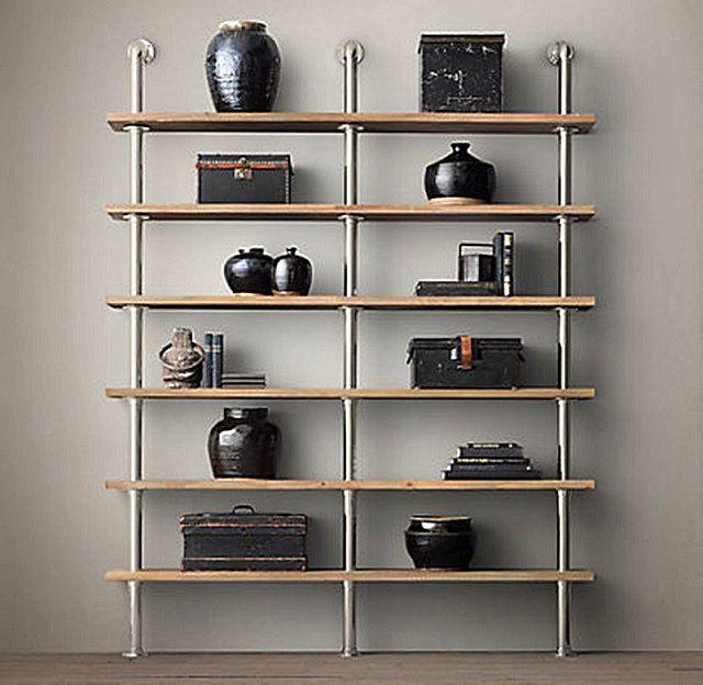 Простота – прежде всего, в том числе и в конструкции полок и стеллажей