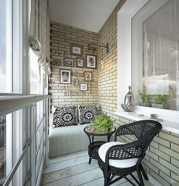 Не все из «лофта» применимо в условиях балкона, но постараться приблизится к «эталону» все же можно