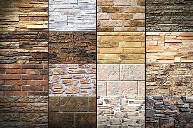 Разнообразие отделки из искусственного камня – очень велико