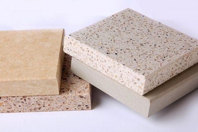 Облицовочные плитки из искусственного кварцевого камня