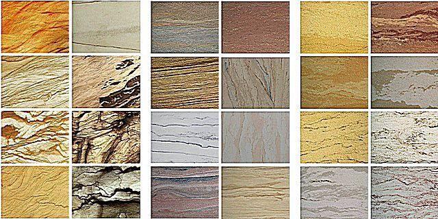 Разнообразие внешнего оформления полотен или плиток гибкого «камня»
