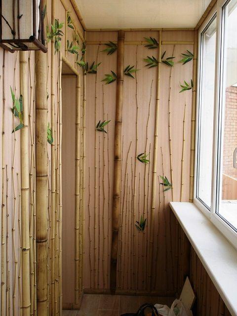 Число сторонников отделки стен бамбуком – постоянно растет
