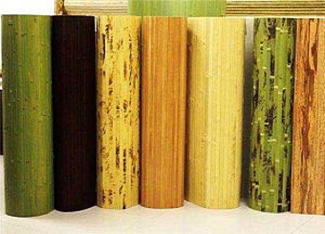 Разнообразие внешнего оформления бамбуковых обоев