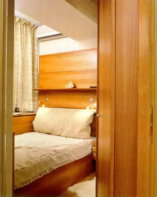 Из балкона получилась чрезвычайно уютная спальня