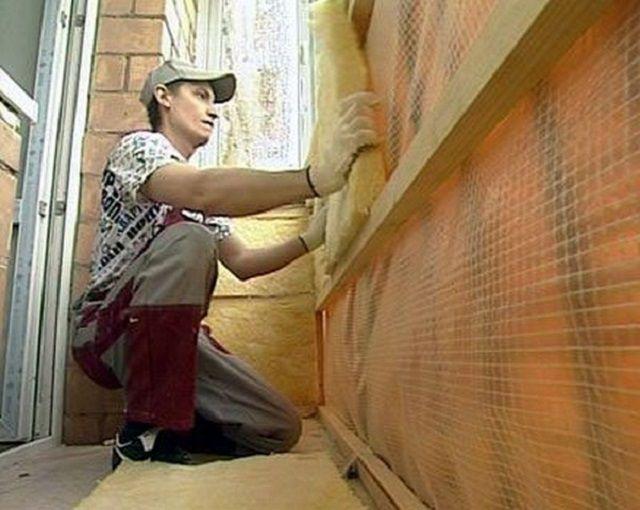 Технология утепления балкона будет зависеть от его планируемой функциональности