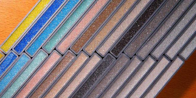 Эпоксидную затирку можно подобрать практически любого цвета