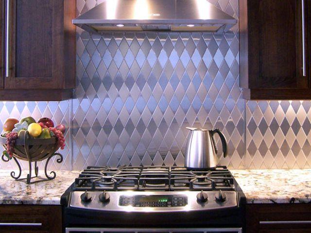 Кухонный фартук из нержавейки своими руками