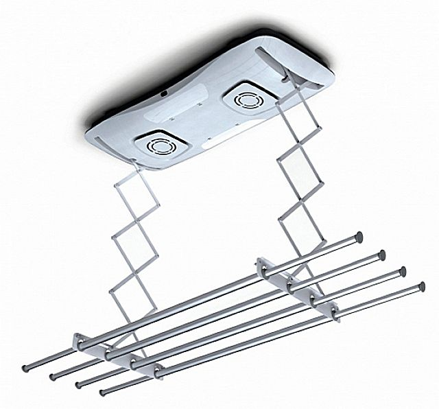 Сушилка потолочная электрическая со встроенными фенами