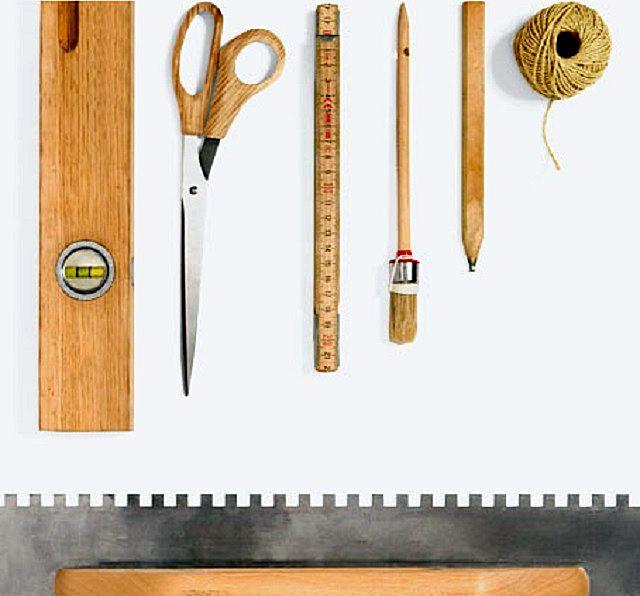 Для монтажа облицовки из «гибкого кирпича» не потребуется сколь-нибудь сложных инструментов