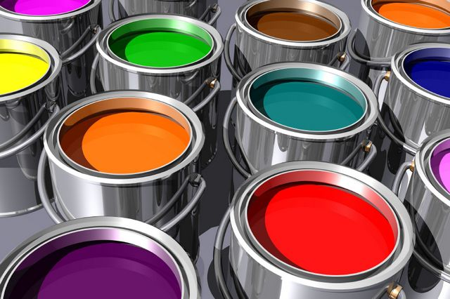 Эмалевые краски больше подойдут для полов, а также для внешней отделки