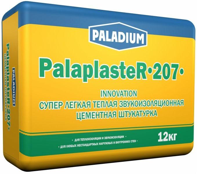 Тёплая штукатурка с эффектом звукоизоляции «PALADIUM Palaplaster-207»