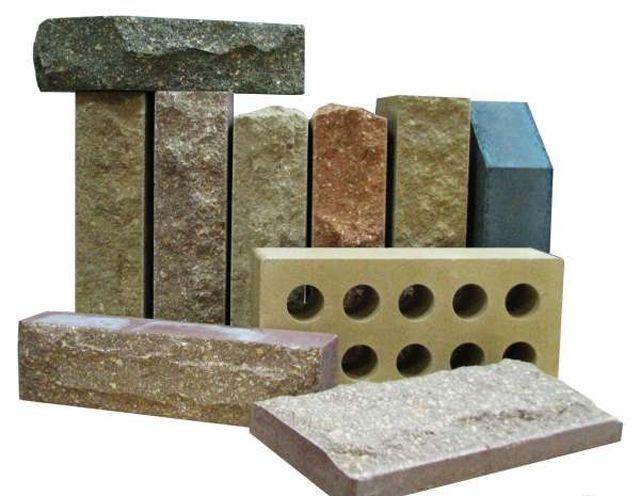 Гиперпрессованный кирпич похож на сколы натурального камння
