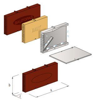 вентиляционная коробочка для кирп