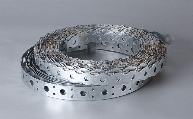 Перфорированная стальная монтажная полоса