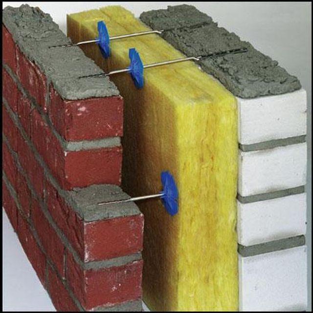 Гибкие связи из нержавеющей стали, замуровываемые в кладку