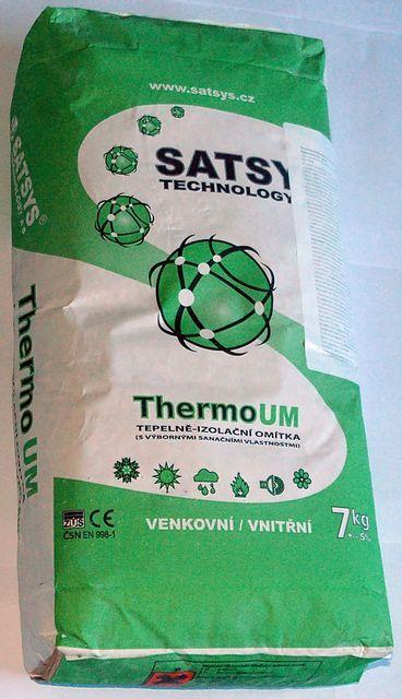 Упаковка универсальной теплой штукатурки «ThermoUm»