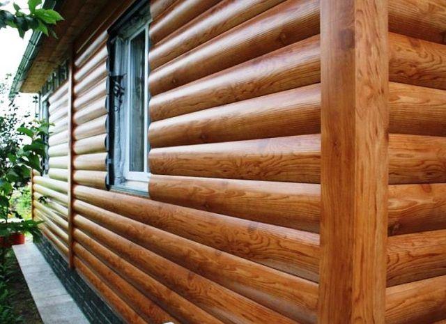 «Блок-хаус» — имитация бревенчатого сруба