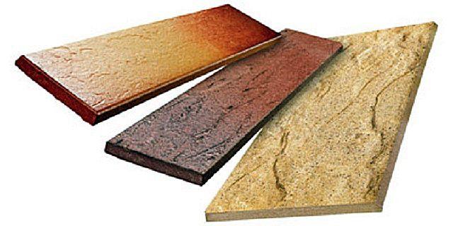 Клинкерная плитка может имитировать и кирпич, и срез натурального камня.