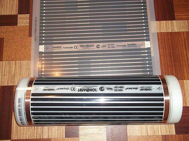 Пленочные нагреватели «ТеплоНог»: судя по информации в интернете, южнокорейская компания выпускает такую продукцию под разными названиями –в соответствии с пожеланиям заказчика.