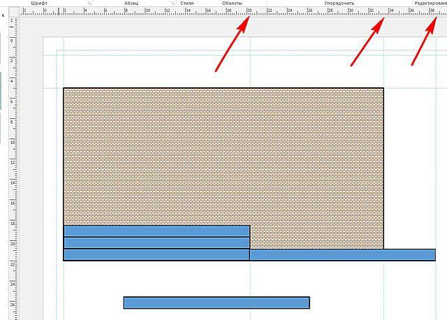 Линейки интерфейса программы позволяют очень точно определить размеры фрагментов, чтобы затем перевести через выбранный масштаб в реальные величины.