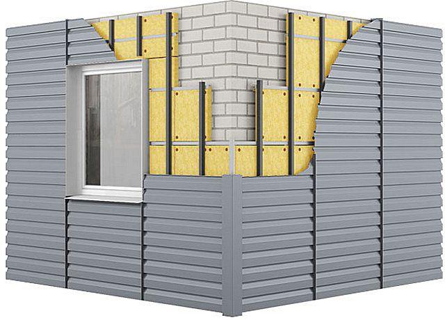 При расчетах не забывайте, что реальная длина стен увеличится за счет каркасной конструкции и слоя утеплителя