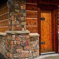 Отделка фундамента дома под камень