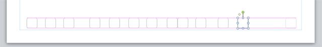 Подсказки в виде розовых линий