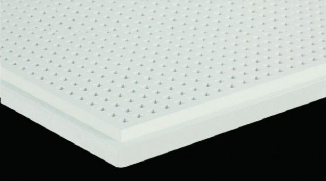 Силикатно-кальциевый лист с перфорацией