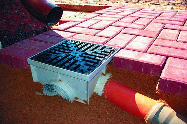 Дождеприемник - основной элемент точечного поверхностного дренажа
