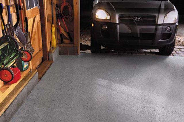 Механические нагрузки на гаражный пол не должны приводить к его деформации и разрушению