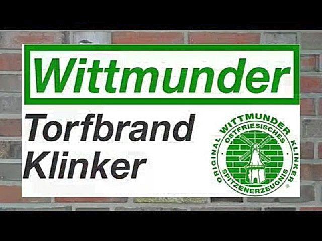 Узнаваемый логотип компании «Wittmunder Klinker», производящей клинкерный кирпич по технологии, не претерпевшей особых изменений вот уже более ста лет
